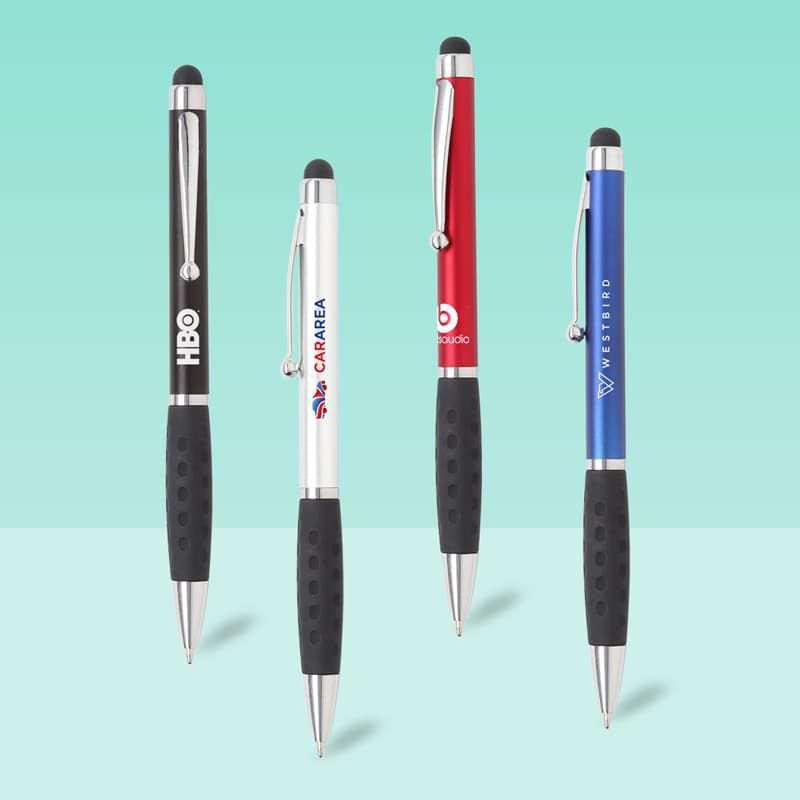 Wholesale custom  Twist Action Touch Pen Touch Pen 2