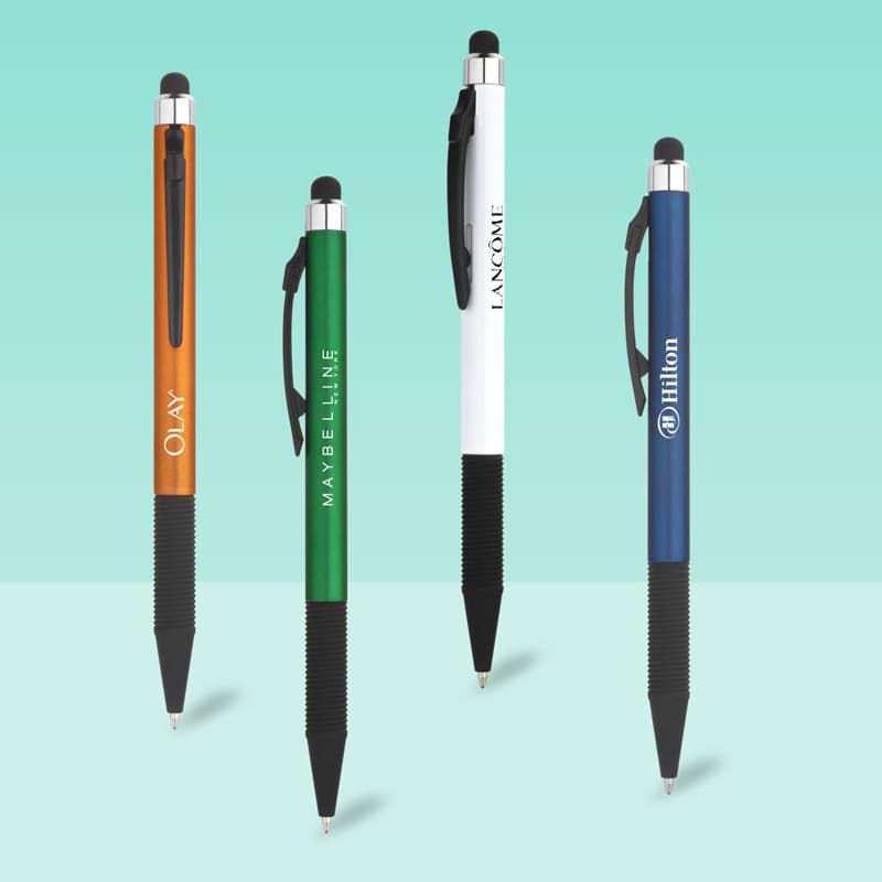 Wholesale custom  Push action touch pen Touch Pen 2