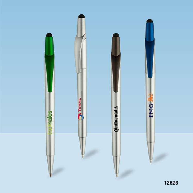 Wholesale custom  Twist action touch ballpen Touch Pen 2