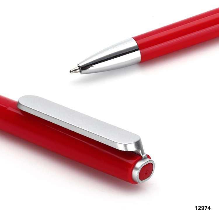 Wholesale custom  Twist action ballpen Plastic Pen 2