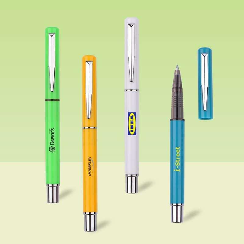 Wholesale custom  Cap off gel ink pen Gel Ink Pen 2