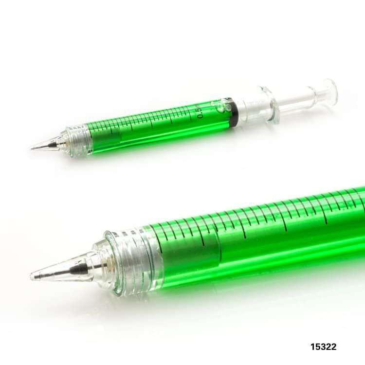 Wholesale custom  Syringe shape ballpen Novelty Pen 2