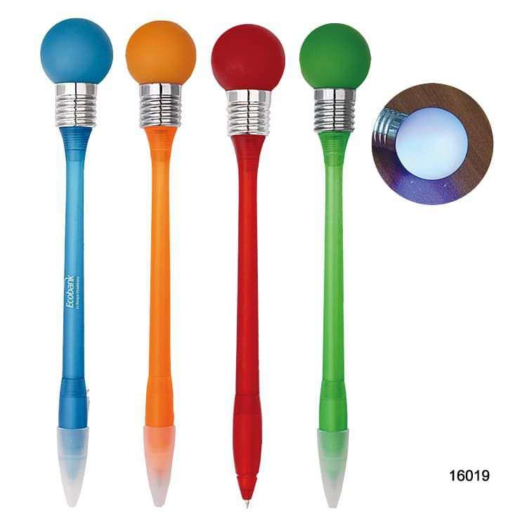Wholesale custom  Led Ballpen Led Pen