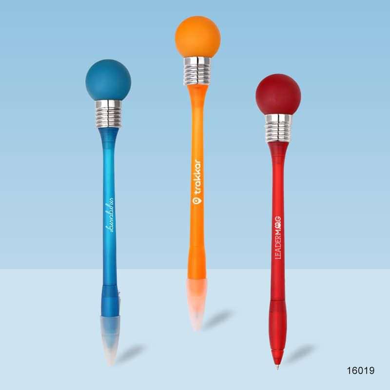 Wholesale custom  Led Ballpen Led Pen 2