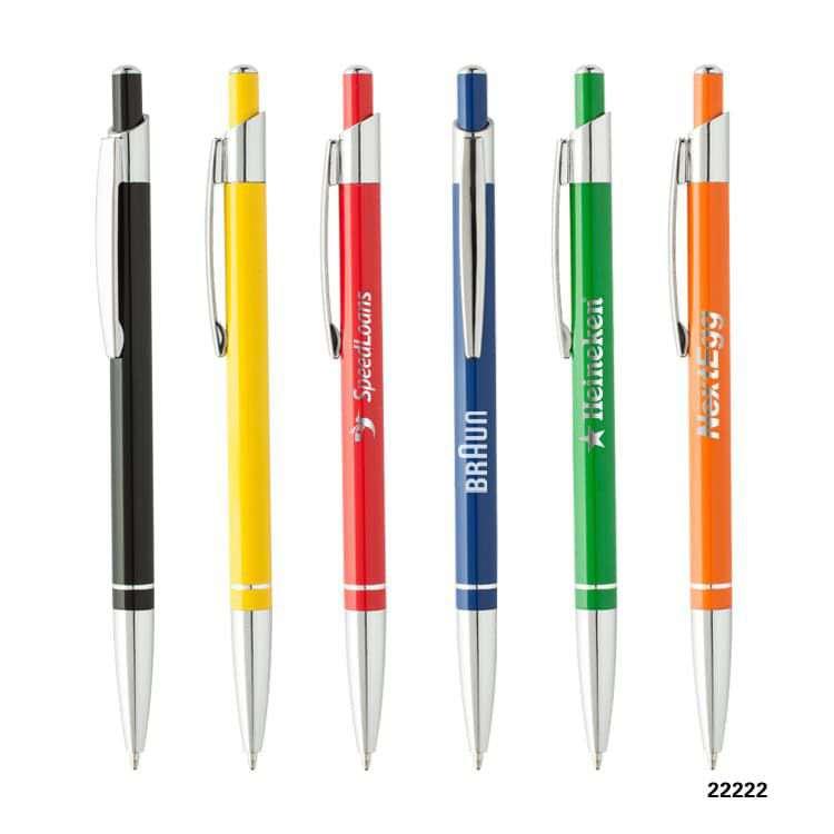 Wholesale custom  Aluminium ballpen Aluminium Pen 2