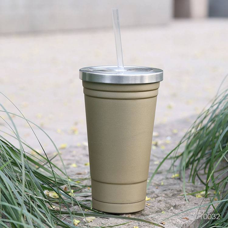 Wholesale custom  560ML Double-walled SS travel cup Mugs & Tumblers 2