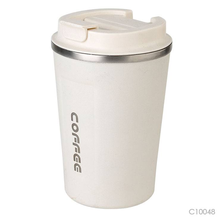 Wholesale custom  380ML Double-walled SS coffee cup Mugs & Tumblers