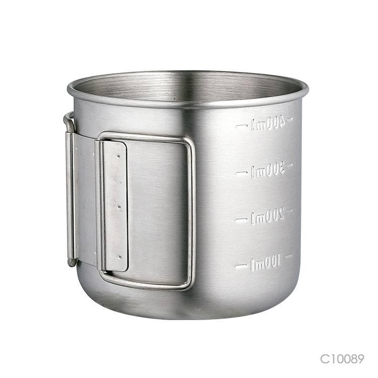 Wholesale custom  300ML Single-walled stainless steel water mug Mugs & Tumblers 2