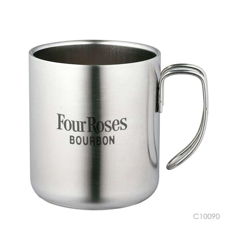 Wholesale custom  300ML Double-walled stainless steel water mug Mugs & Tumblers