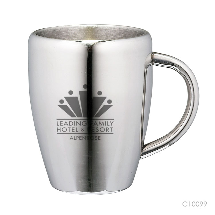 Wholesale custom  200ML Double-walled stainless steel coffee mug Mugs & Tumblers