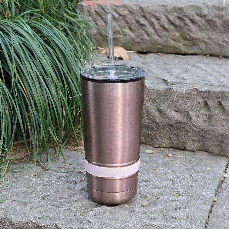 Wholesale custom  590ML Double-walled vacuum SS tumbler Mugs & Tumblers 2