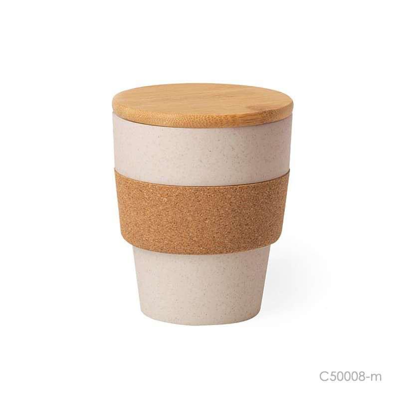 Wholesale custom  ECO Friendly Bamboo Fiber Cup Green Choice 2