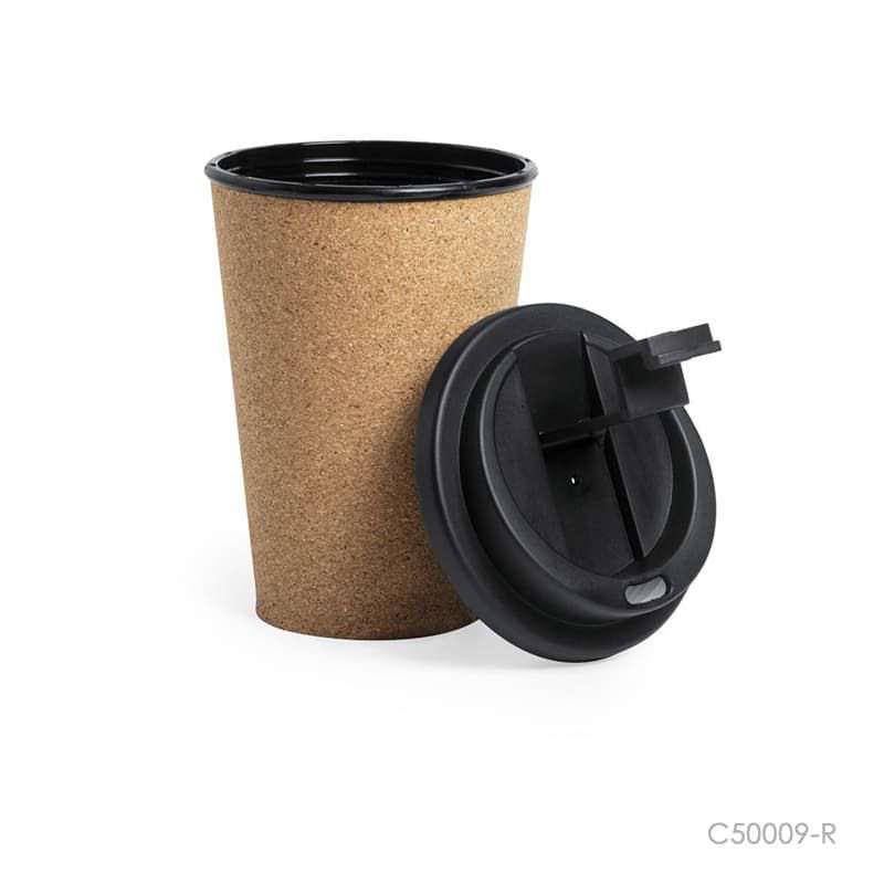 Wholesale custom  350ML Cork Cup Cork 2