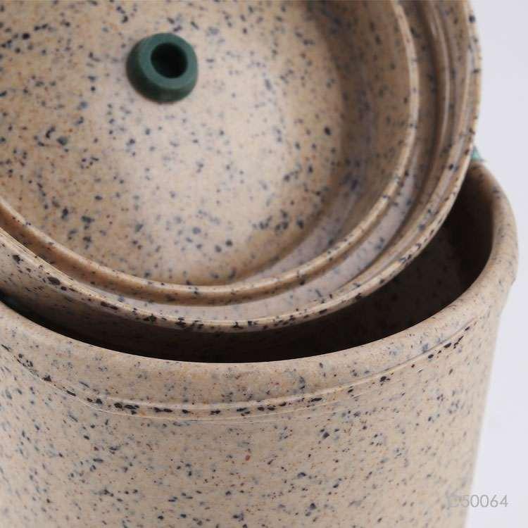 Wholesale custom  450ML Bamboo fibe&PP cup Green Choice 2