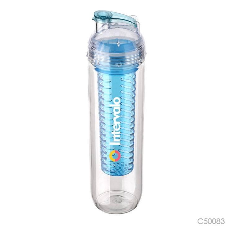 Wholesale custom  900ML fruit infuser bottle Water Bottles