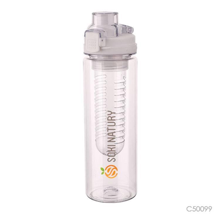 Wholesale custom  700ML fruit infuser water bottle Water Bottles