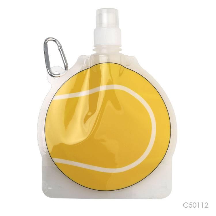 Wholesale custom  450ML PET foldable water bottle Water Bottles 2