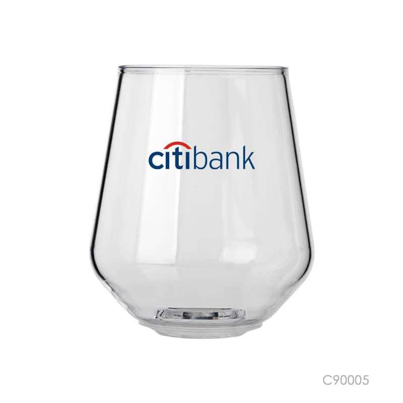 Wholesale custom  400ml transparent chear cup Glasseware