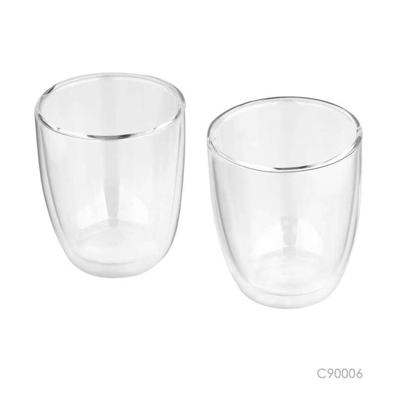 Wholesale custom  2 Pieces glass set Glasseware