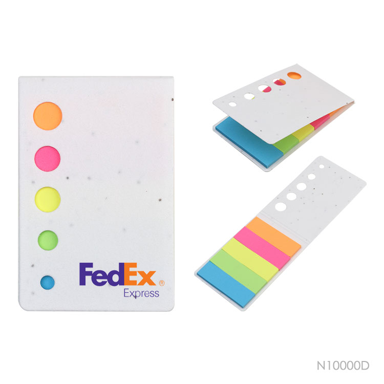Wholesale custom  Growing paper cover sticky notepad. Notepads