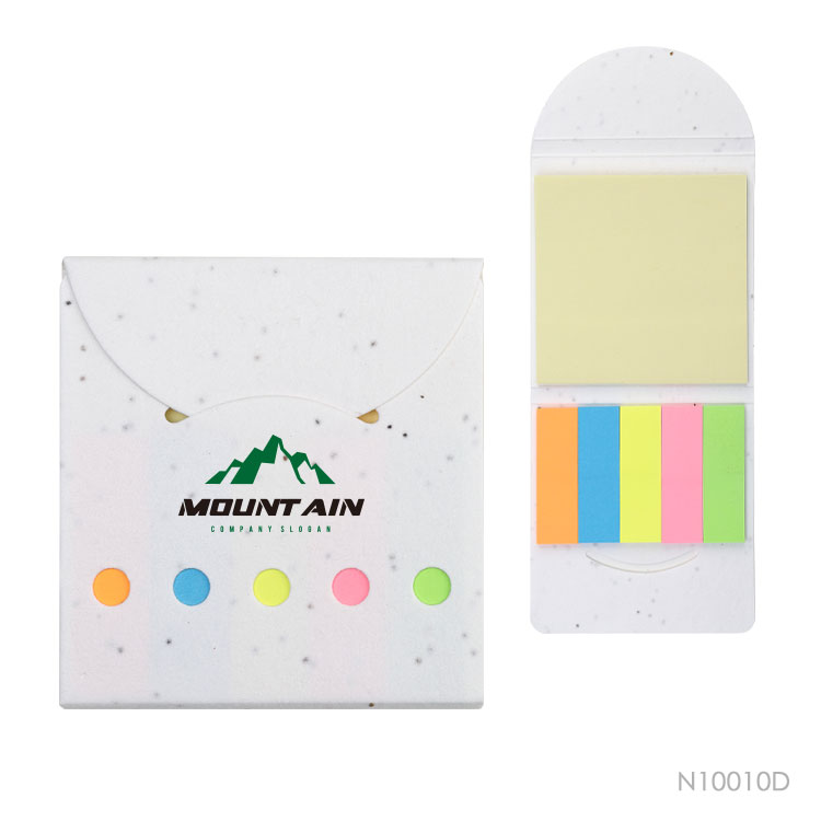 Wholesale custom  Growing paper cover Smile face sticky notepad Notepads
