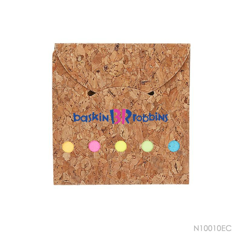 Wholesale custom  Notepad with Cork Cover Cork