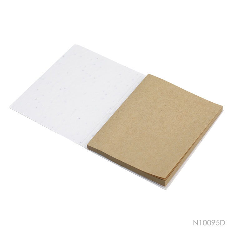 Wholesale custom  Growing Paper Cover Sticky Notepad Notepads 2