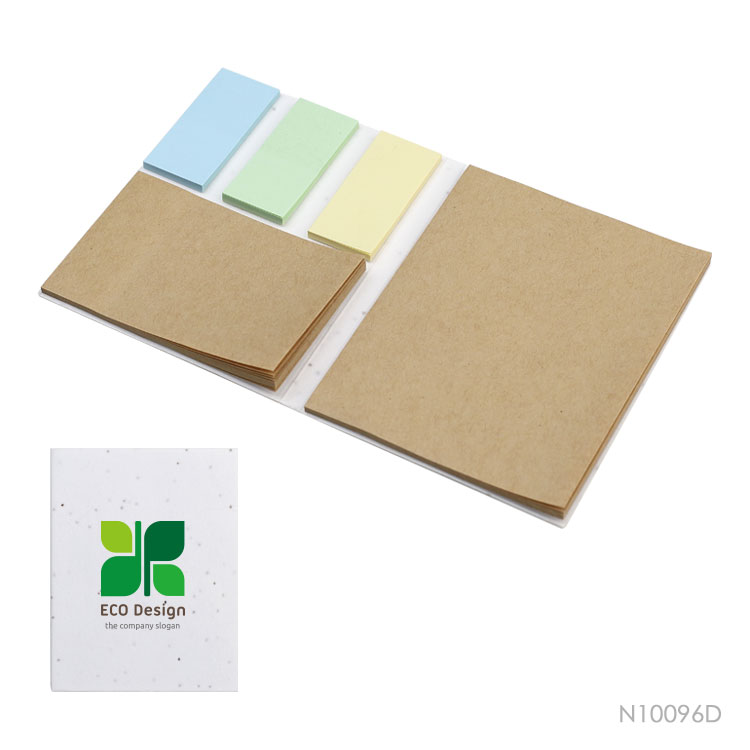 Wholesale custom  Growing Paper Cover Sticky Notepad Notepads