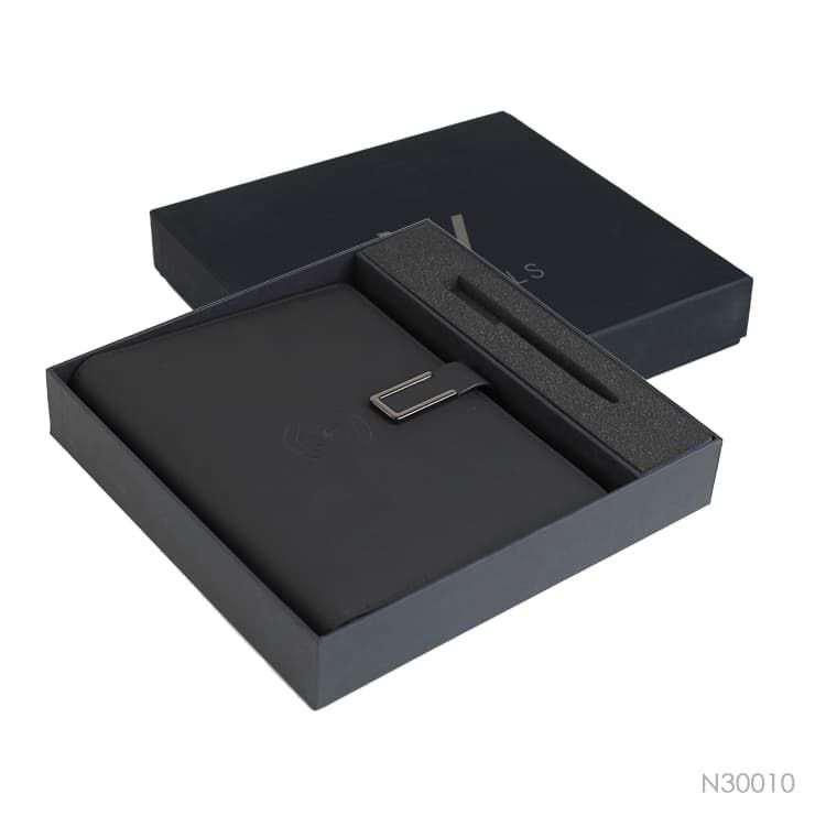 Wholesale custom  Portfolio with Power Bank Notebooks 2