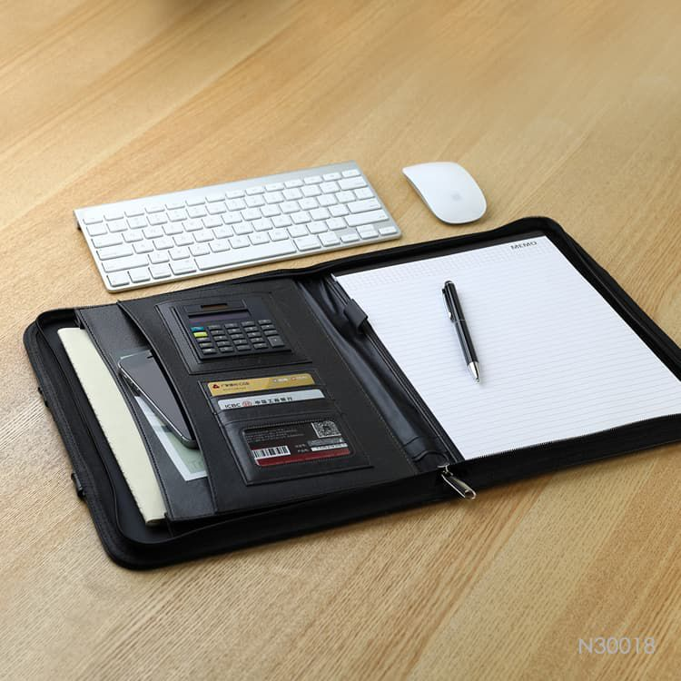 Wholesale custom  PU Portfolio Folder Portfolios 2