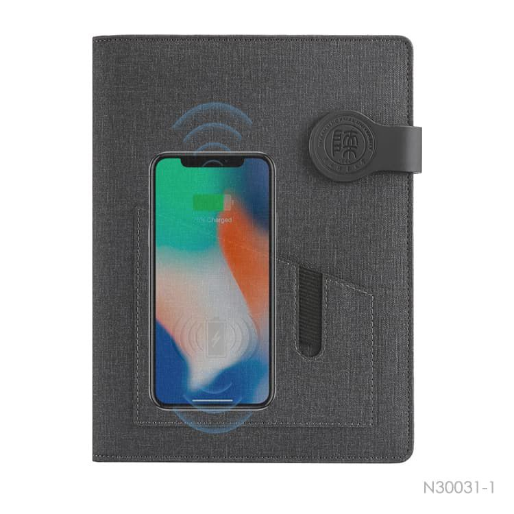 Wholesale custom  Notebook with Power Bank Notebooks
