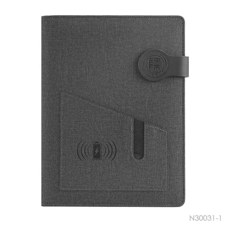 Wholesale custom  Notebook with Power Bank Notebooks 2