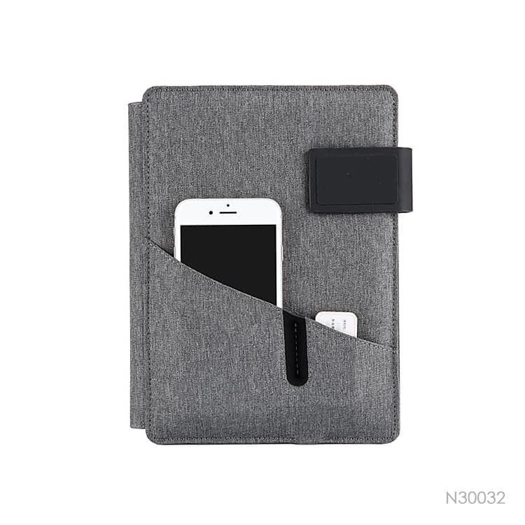 Wholesale custom  Notebook with Power Bank Portfolios 2