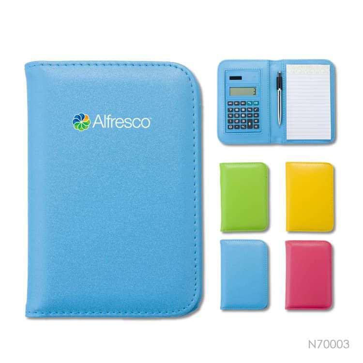Wholesale custom  Notepad with Calculator Portfolios