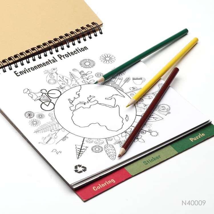 Wholesale custom  ECO Notebook Set Stationery 2