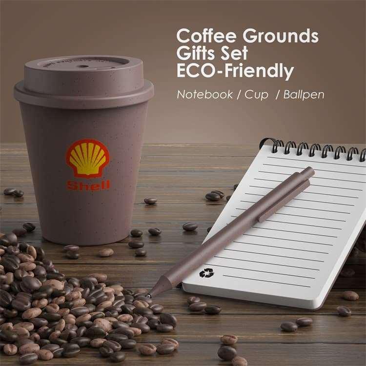 Wholesale custom  Coffee Grounds Office Set Coffee