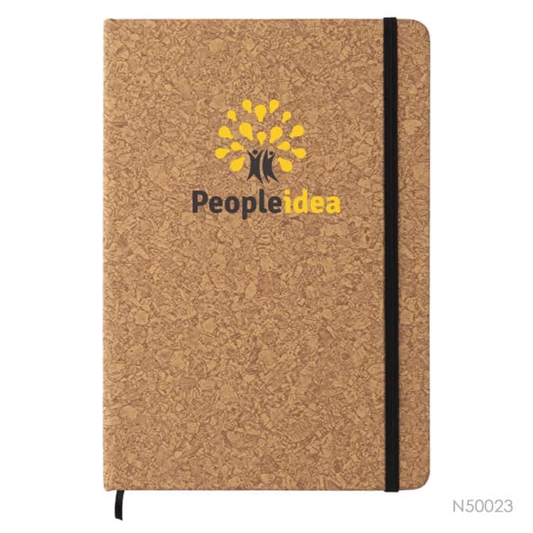 Wholesale custom  A5 Notebook with PU Cover Cork