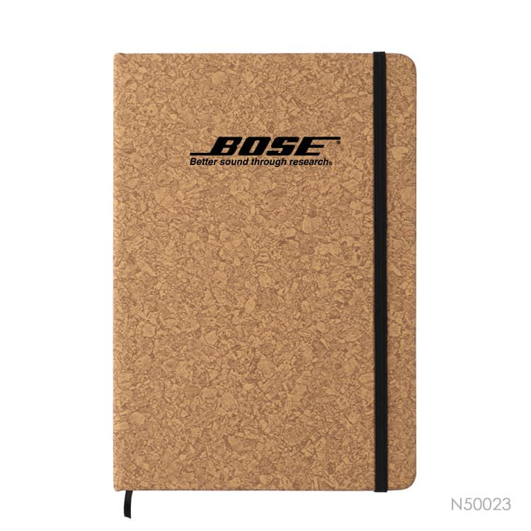 Wholesale custom  A5 Notebook with PU Cover Cork 2