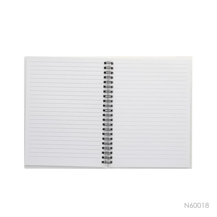 Wholesale custom  A5 notebook with PP cover Stationery 2