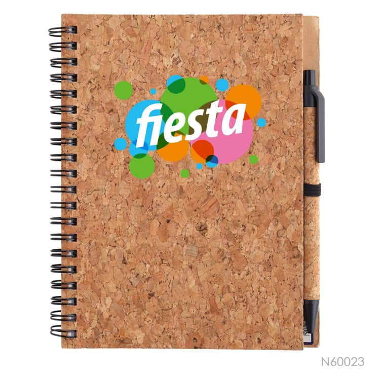 Wholesale custom  Notebook with Cork Cover Cork