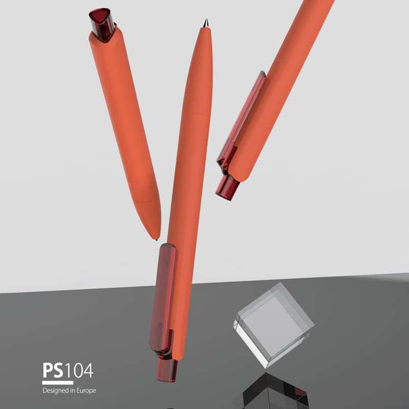 Wholesale custom  Plastic ballpen Plastic Pen 2