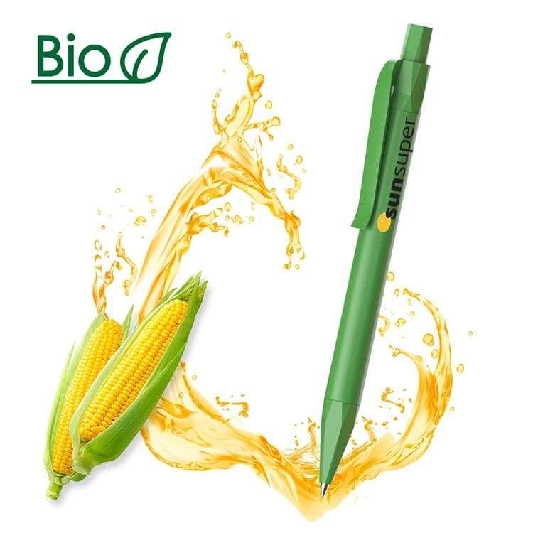 Wholesale custom  Biodegradable PLA Ballpen,ECO-Friendly Corn PLA
