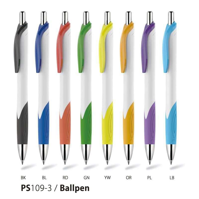 Wholesale custom  Plastic ballpen Plastic Pen