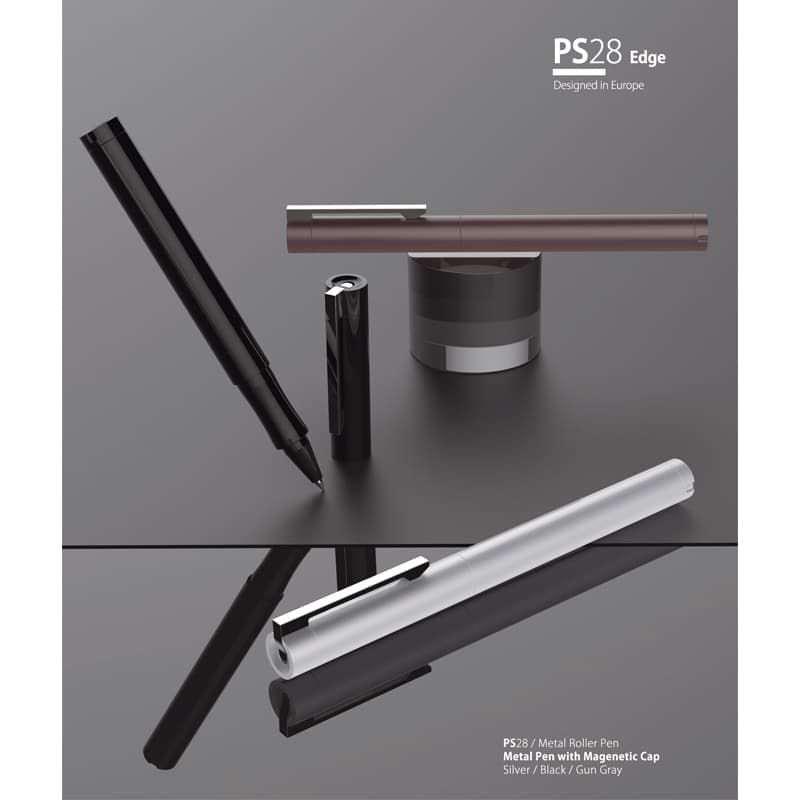 Wholesale custom  Metal Roller Pen with Magenetic Cap Metal Pen