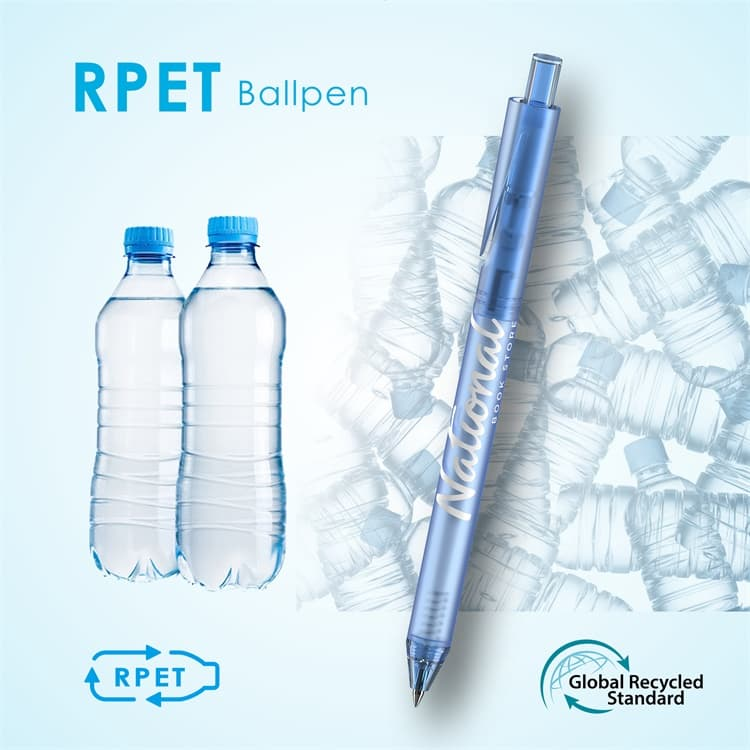 Wholesale custom  RPET Ballpen R-PET