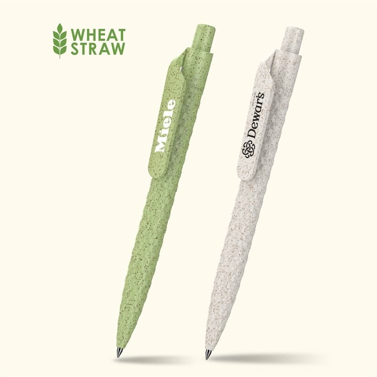 Wholesale custom  Wheat straw ballpen Wheat Straw