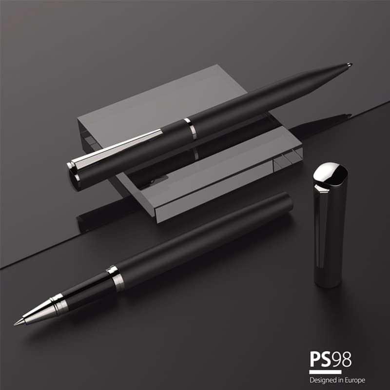 Wholesale custom  Rubber Finish Metal Ball Pen Metal Pen 2
