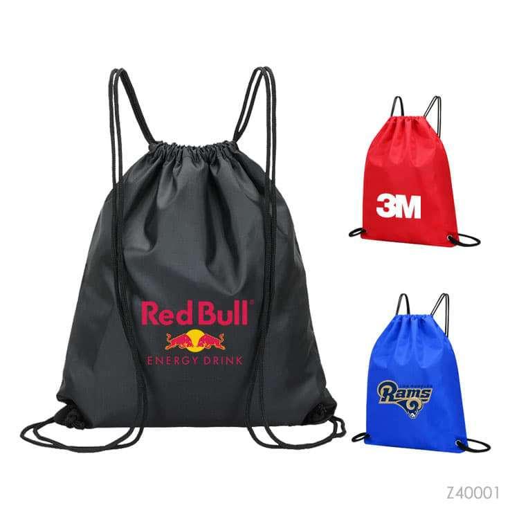 Wholesale custom  RPET Drawstring Bag R-PET