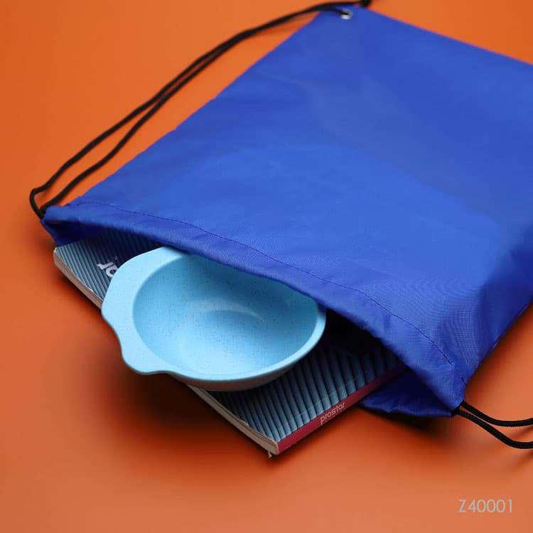 Wholesale custom  RPET Drawstring Bag R-PET 2