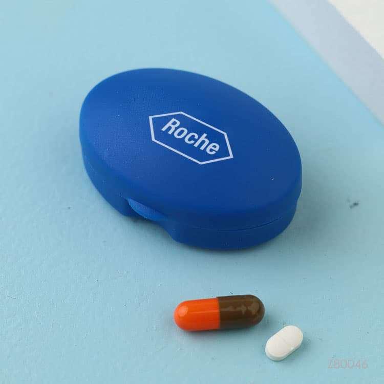 Wholesale custom  Plastic Oval Pill Storage Box Care & Protection